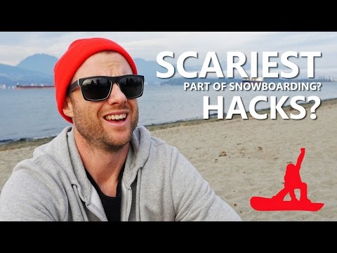 Scariest Part Of Snowboarding + Snowboard Hacks? - Q&A