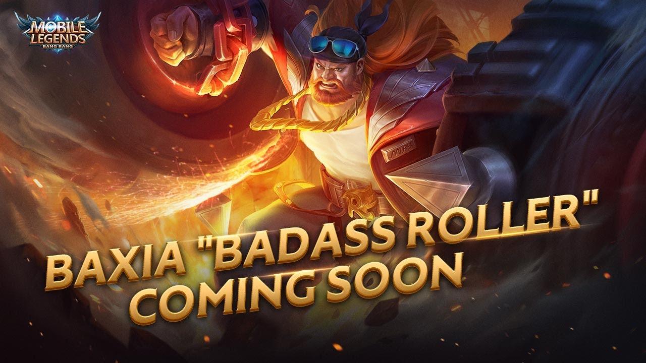 BAXIA New Skin | Badass Roller | Mobile Legends: Bang Bang