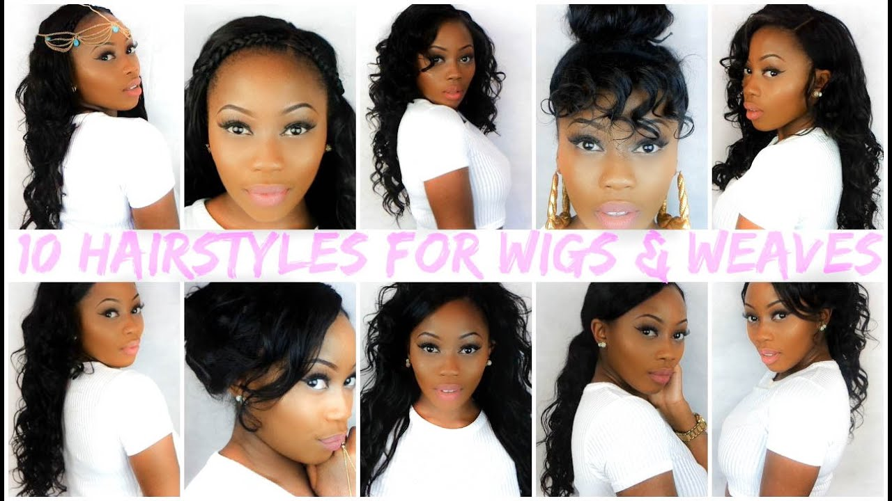 easy hairstyles wigs