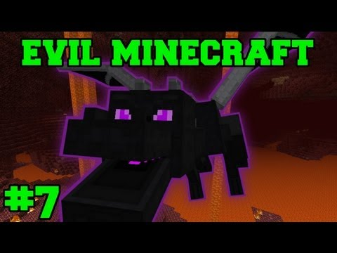 EVIL MINECRAFT! : NETHER FORTRESS - Episode 7 Let's Play (HARD MINECRAFT MODS)