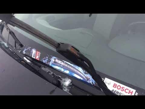 Замена щеток стеклоочистителя на Chevrolet Cruze. Bosch Aerotwin Ar604s.