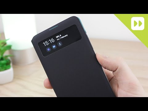 Official Samsung Galaxy A51 S View Wallet Cover Review