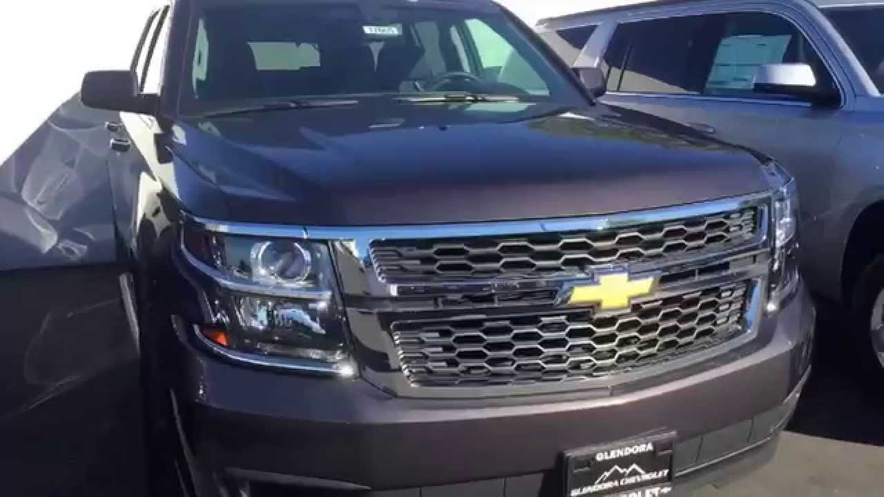 2017 Chevrolet Tahoe Tungsten Metallic