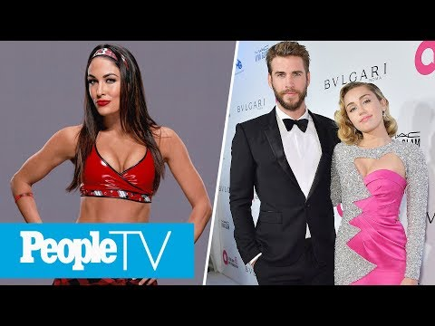 Miley Cyrus Denies Pregnancy Rumors, Brie Bella On Plans For A Baby | PeopleTV