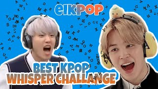 Kpop Whisper Challange Funny Moments (ENG SUB)