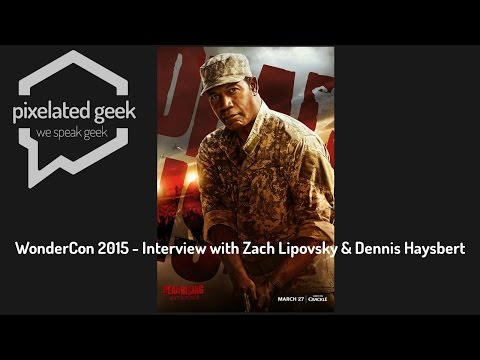 Dead Rising Watchtower Roundtable with Zach Lipovsky and Dennis Haysbert