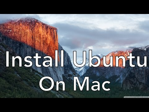 Install Ubuntu in Mac with Virtual Box
