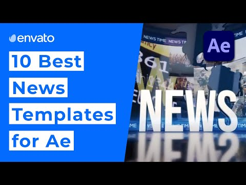 10 Best News Templates for After Effects [2020]