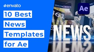 10 Best News Templates For After Effects  2020