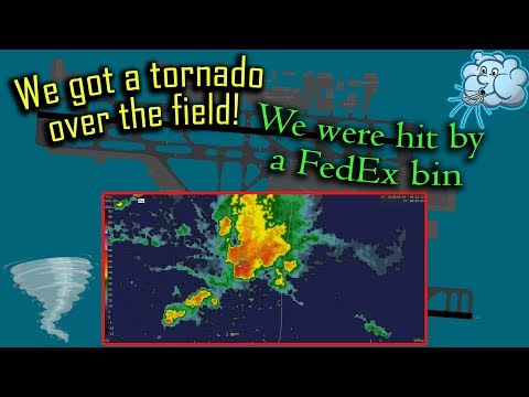 [REAL ATC] A tornado passes right through Fort Lauderdale Airport!