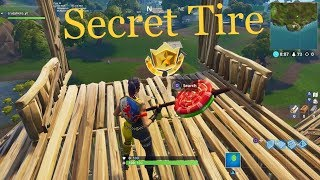 *WORKING* How to Find Secret Tire Pass In Fortnite