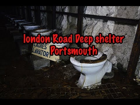 MIND BLOWING 1942 DEEP SHELTER TUNNELS   EVERYTHING LEFT BEHIND  - LONDON RD PORTSMOUTH