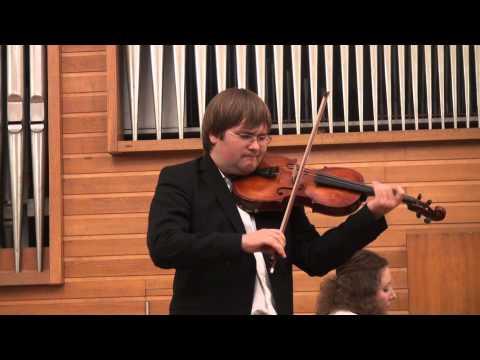 """Ilya Tarasenko, viola, plays Fantasia """"Porgy & Bess"""" by Gershvin - I.Frolov"""
