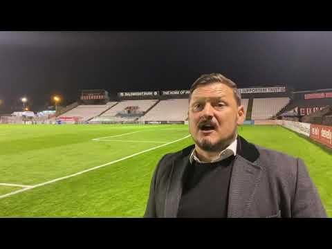 Marc Bircham post match v Bohemians - Oct 22nd, 2021