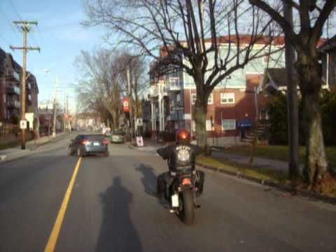 Motorcycle ride Halifax NS