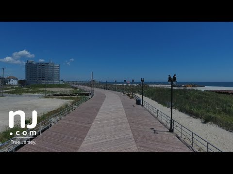 Re-built section of Atlantic City boardwalk opens
