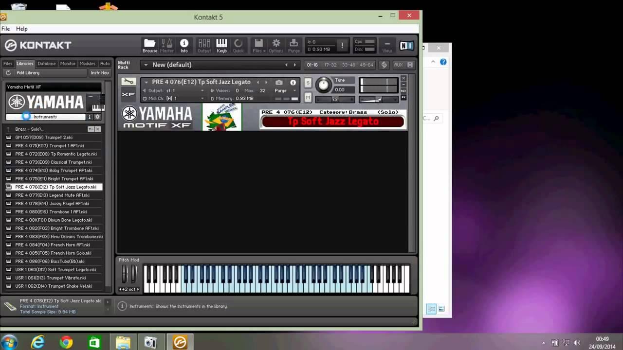 Motif kontakt samples | Download Yamaha Motif ES KONTAKT
