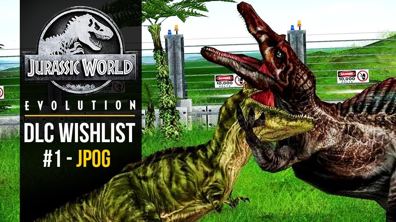 JURASSIC PARK OPERATION GENESIS DLC - WISHLIST #1 | Jurassic World: Evolution DLC