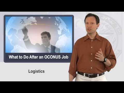 Military Job Search - From OCONUS to Civilian Careers