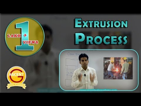 GATE Lectures: Production: Extrusion Process