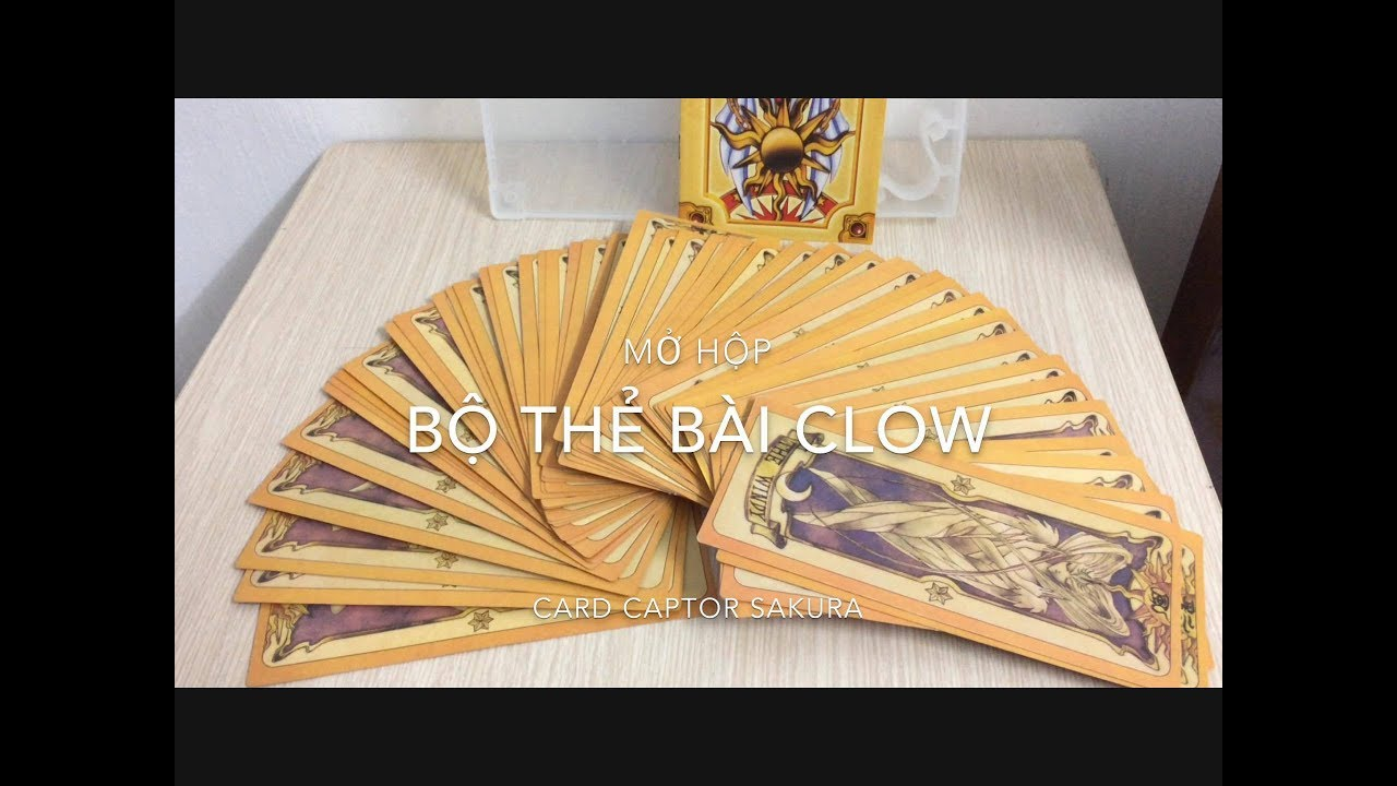 MỞ HỘP BỘ BÀI CLOW: UNBOXING THE CLOW CARD