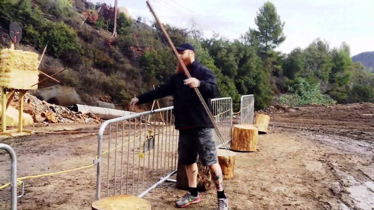 How to Throw A Tethered Spear