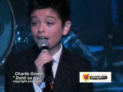 "British Got Talent's Charlie Green sings Philippine love song "" Dahil Sa Iyo"""