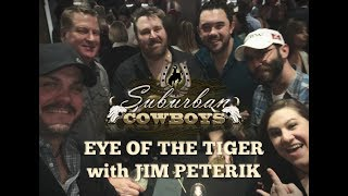 EYE OF THE TIGER live performance with JIM PETERIK and the SUBURBAN COWBOYS