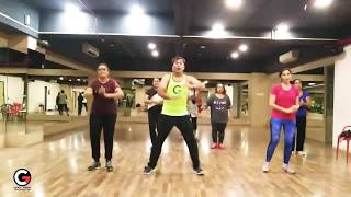 Padmavati : Ghoomar Zumba Choreography | BollyWood Dance Fitness | Cardio | BollyFitParty.in