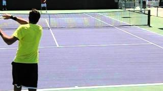 Juan Martin Del Potro Forehand and Backhand in Slow Motion