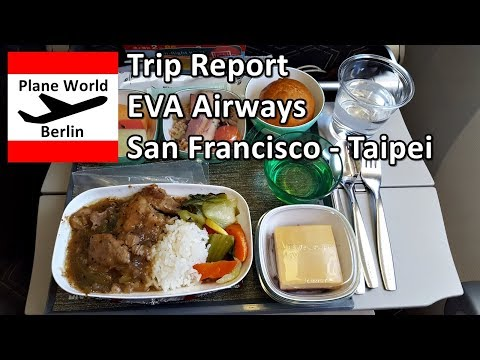 Trip Report | EVA Air Boeing 777-300ER | Economy | SFO - Taipei