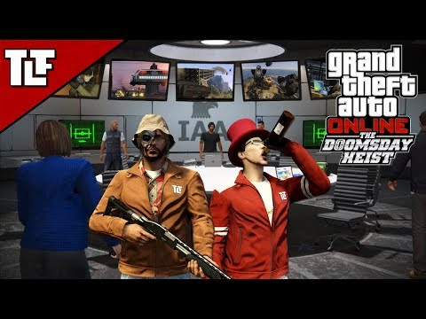 GTA V Online: The Doomsday Heist - Act I Setups and Heist (Stream Archive)