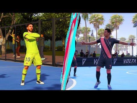 Fifa 20 VOLTA!!! MESSI vs RONALDO