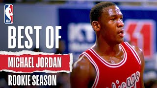 Best Of Michael Jordan's Rookie Season | The Jordan Vault
