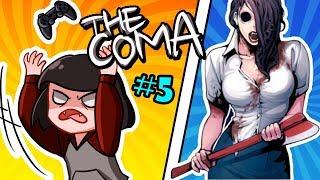 УЧИЛКА С ТОПОРОМ в хоррор игре КОМА The Coma: Recut часть 5