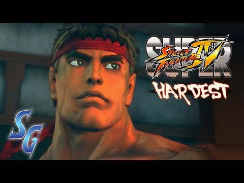 SUPER STREET FIGHTER IV (PS3) - RYU (HARDEST)