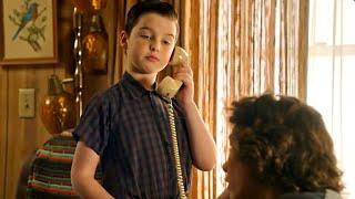 When Sheldon is blackmailing Georgie [Full_HD] #YoungSheldon