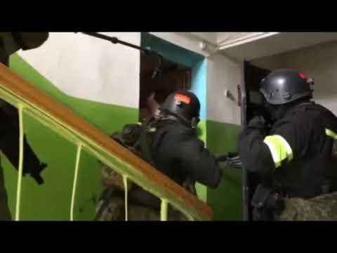 Жесткое задержание террориста Саратов ФСБ штурм