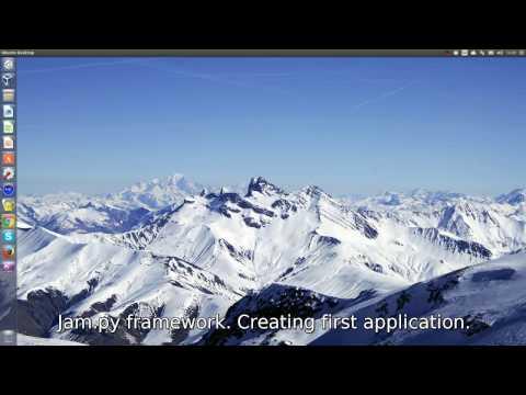 Jam.py framework getting started video