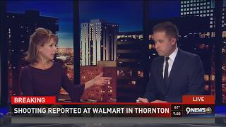 2 dead, 1 injured after shooting at Thornton Walmart