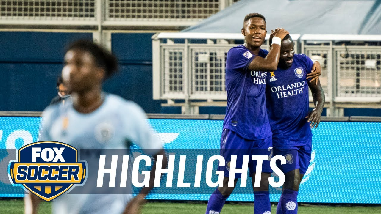 Orlando City holds off late Sporting Kansas City surge for massive 2-1 win | 2020 MLS Highlights