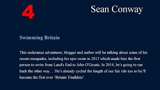 Sean Conway - Royal Geographical Society, Endeavours 2