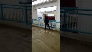 На реке Сырдарья уровень ледохода превысил опасную отметку