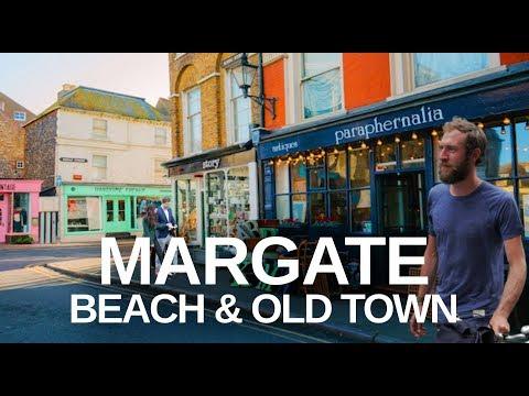 [4K] MARGATE UK WALKING TOUR - Dreamland to Turner Gallery