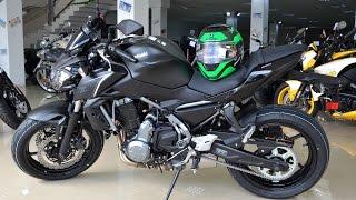 обзор нового мотоцикла Kawasaki Z650 (ER-6n) 2017