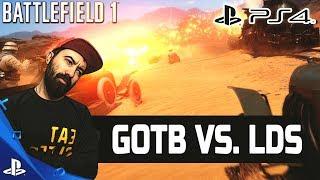"""BATTLEFIELD 1 PS4 - ШОУ-МАТЧ """"ЕДИНСТВО"""" GOTB VS. LDS"""