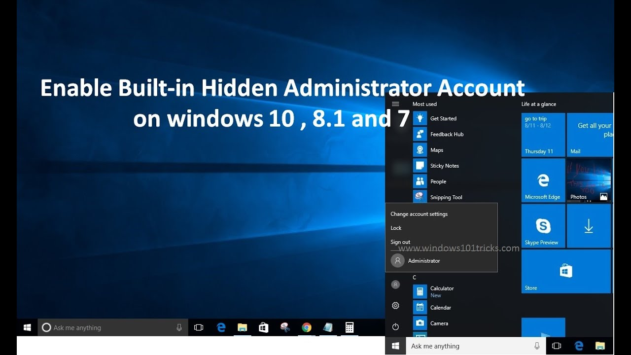 windows 10 super admin