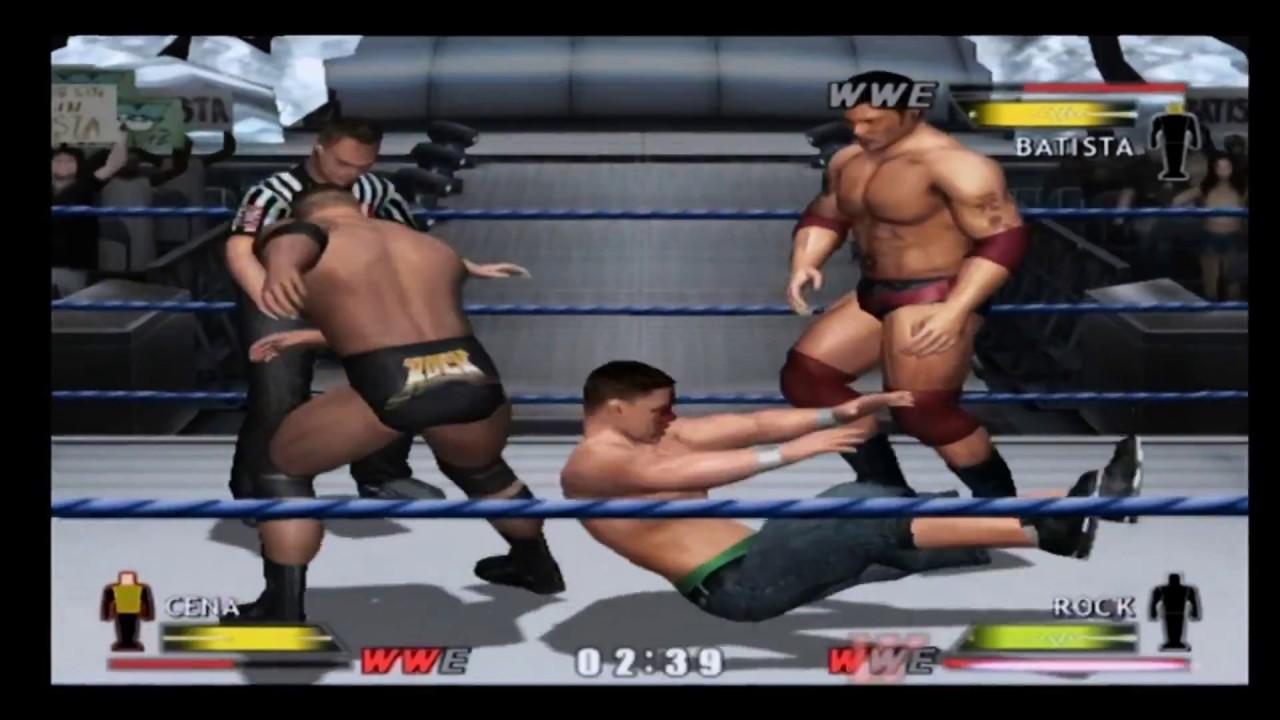 WWE Day Of Reckoning Gamecube Gameplay