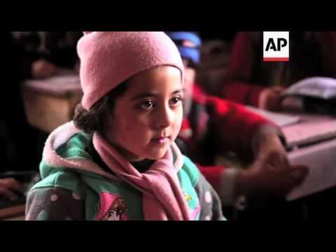 Volunteers based in Amman provide aid in Syria