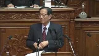 【字幕】H24.01.26 衆議院 本会議 細田博之:代表質問